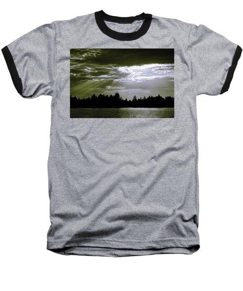 Light Blast In Evening Baseball T-Shirt