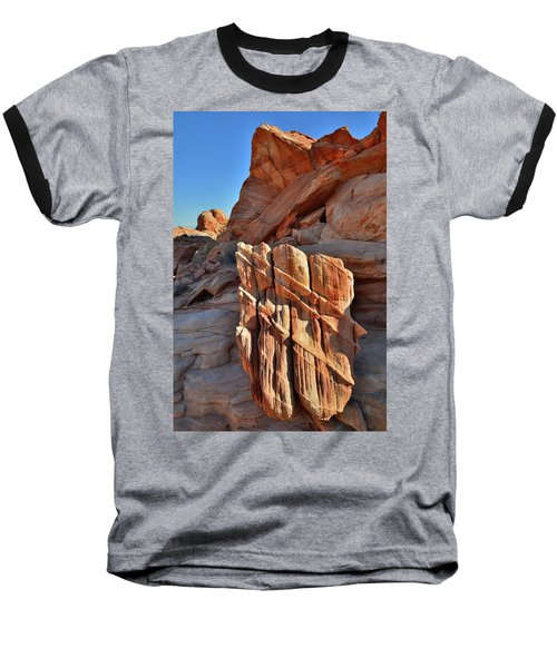 Light Creeps In At Valley Of Fire State Park Baseball T-Shirt