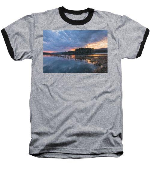 Light Cycles Baseball T-Shirt