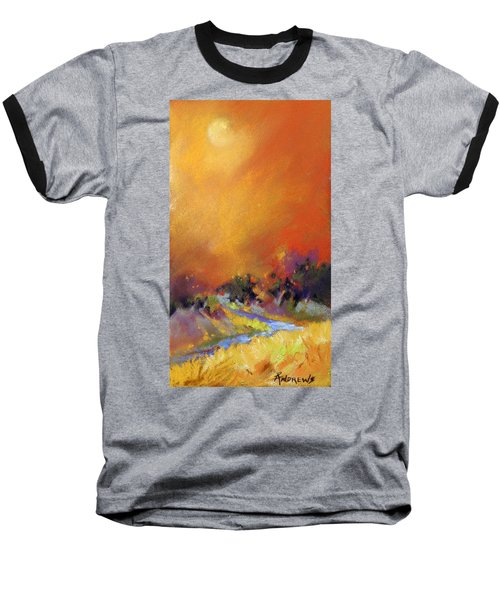Baseball T-Shirt featuring the painting Light Dance by Rae Andrews