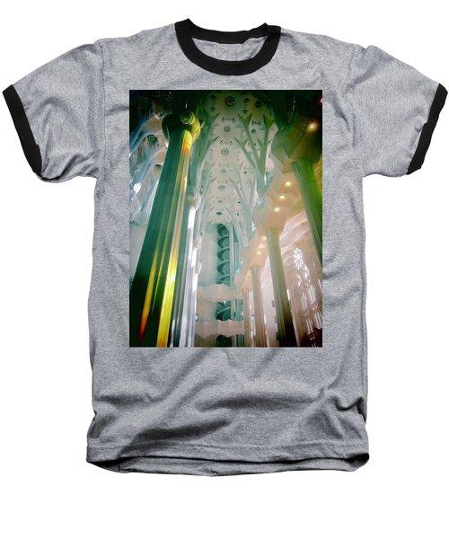 Light Dancing On The Ceiling Baseball T-Shirt