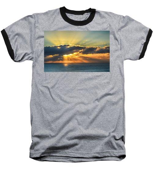 Light Explosion Baseball T-Shirt