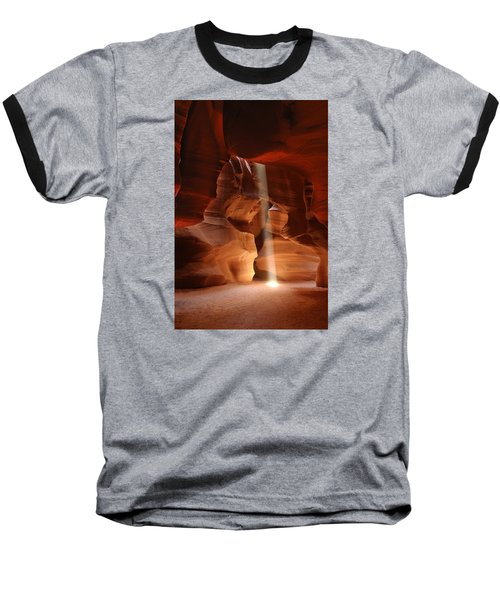 Light From Above Baseball T-Shirt