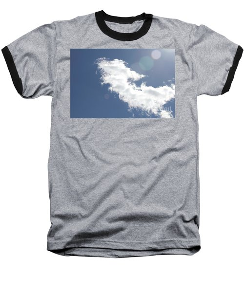 Light In Cloud Flare Baseball T-Shirt
