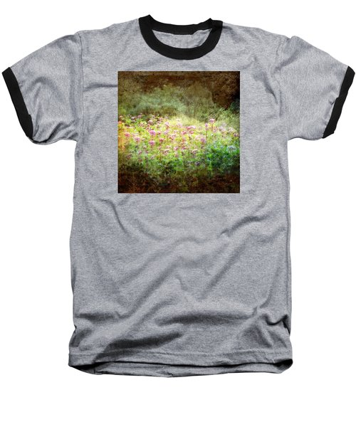 Light In The Forest Baseball T-Shirt by Robin Regan