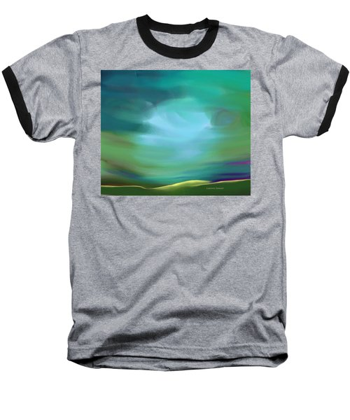 Light In The Storm Baseball T-Shirt by Lenore Senior
