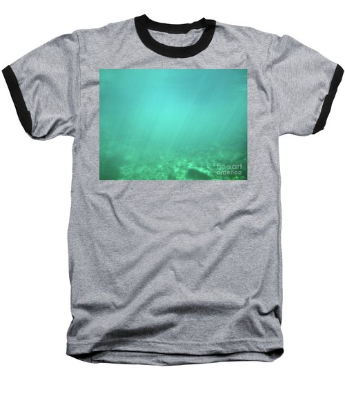 Baseball T-Shirt featuring the photograph Light In The Water by Francesca Mackenney