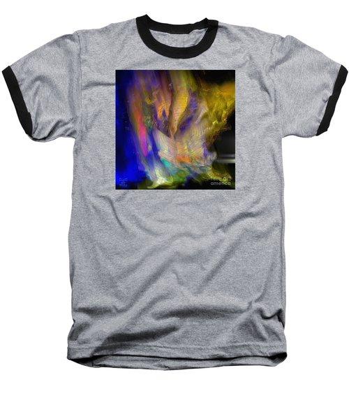 Light Magic Baseball T-Shirt by Dee Flouton