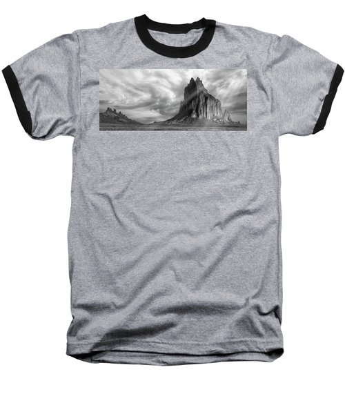 Light On Shiprock Baseball T-Shirt