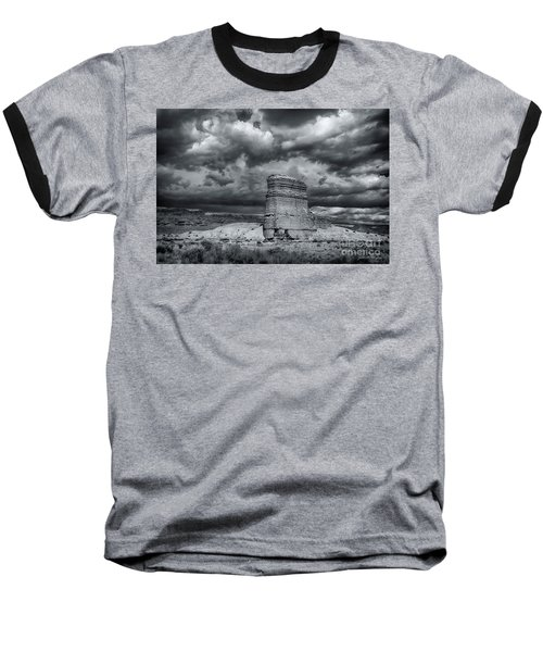 Baseball T-Shirt featuring the photograph Light On The Rock by John A Rodriguez