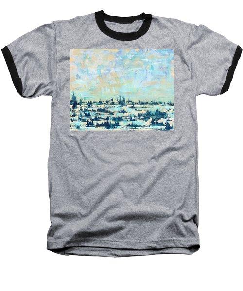 Light Over Broad Creek Baseball T-Shirt