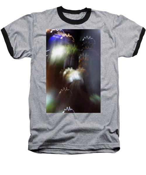 Light Paintings - No 4 - Source Energy Baseball T-Shirt