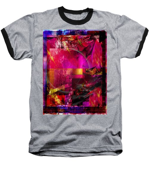 Light Particles Baseball T-Shirt