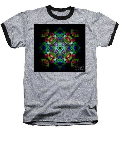 Light Pattern Baseball T-Shirt