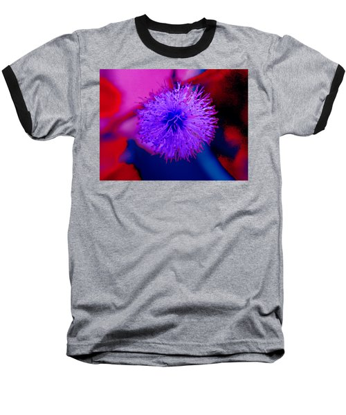 Light Purple Puff Explosion Baseball T-Shirt