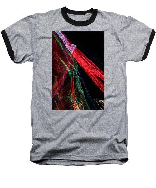 Light Ribbons Baseball T-Shirt