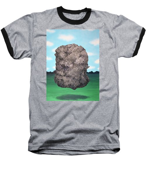 Baseball T-Shirt featuring the painting Light Rock by Thomas Blood
