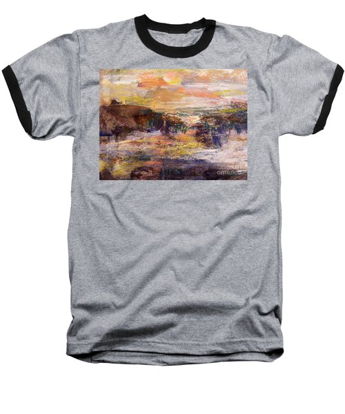 Light Show At Dawn Baseball T-Shirt by Nancy Kane Chapman