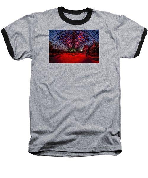 Light Show At The Conservatory Baseball T-Shirt