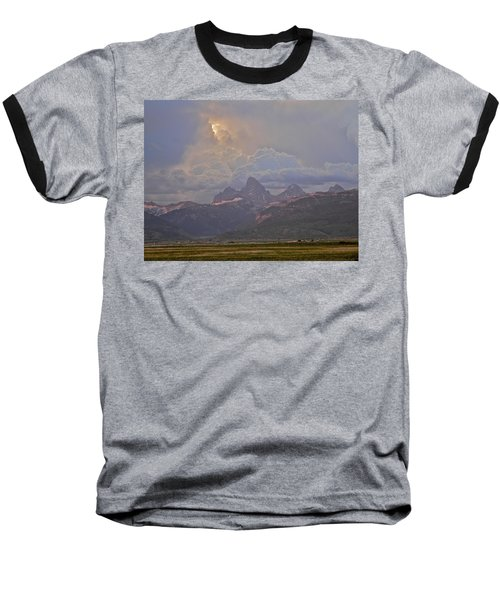 Light Storm Baseball T-Shirt