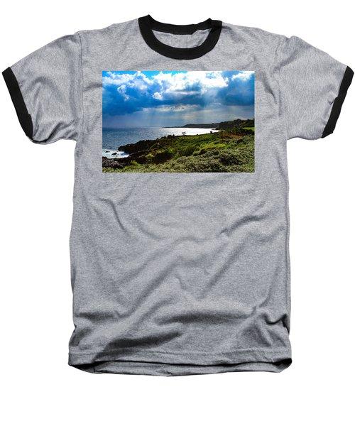 Light Streams On Kauai Baseball T-Shirt