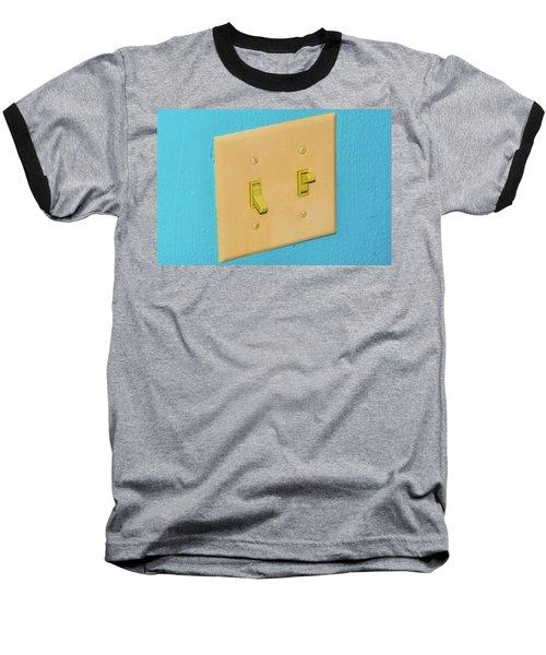 Light Switch Baseball T-Shirt
