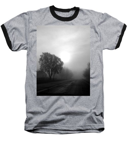 Light Through A Fog Baseball T-Shirt