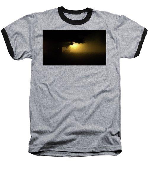 Light Through The Tree Baseball T-Shirt by Leeon Pezok