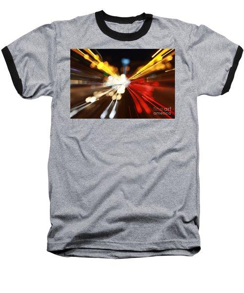 Light Trails Baseball T-Shirt
