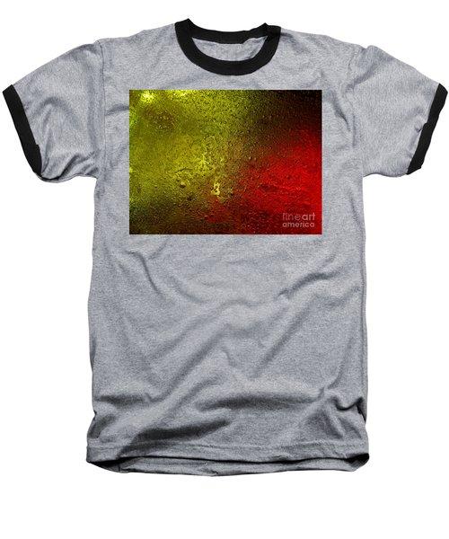Light Under Ice Baseball T-Shirt by Trena Mara