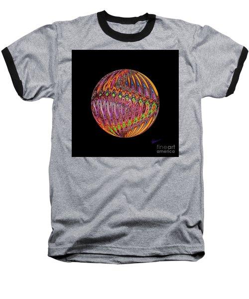Baseball T-Shirt featuring the digital art Light Up The Night by Vicki Pelham