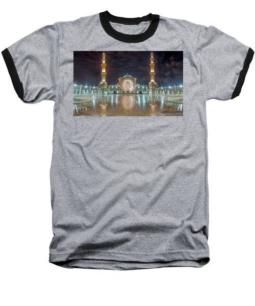 Lighted Federal Territory Mosque  Baseball T-Shirt
