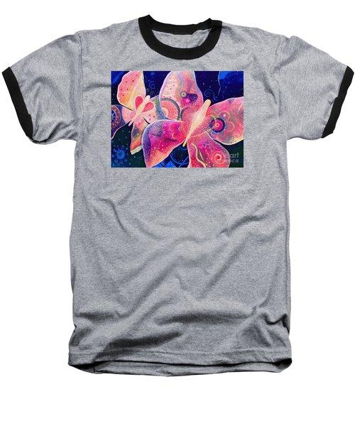 Lighthearted In Full Spectrum Baseball T-Shirt