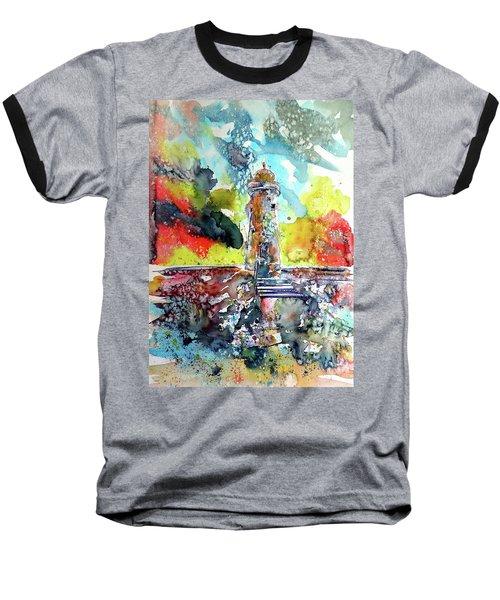 Lighthouse After Storm Baseball T-Shirt by Kovacs Anna Brigitta