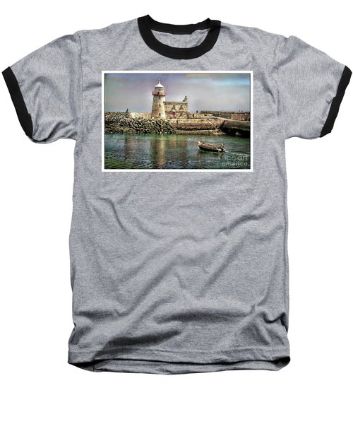 Lighthouse At Howth, Ireland Baseball T-Shirt