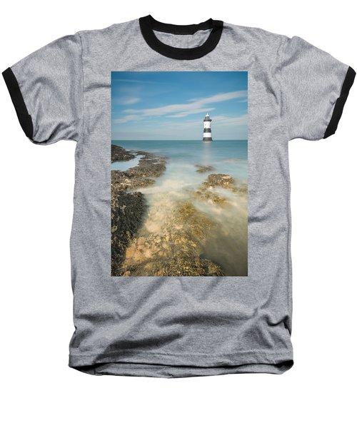 Lighthouse At Penmon Baseball T-Shirt