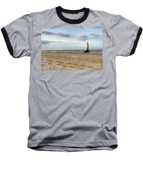 Lighthouse At Talacre Baseball T-Shirt