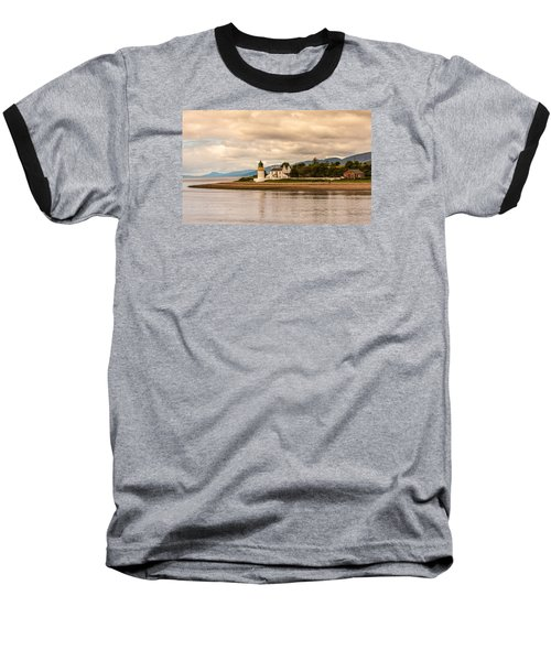 Lighthouse In The Highlands Baseball T-Shirt