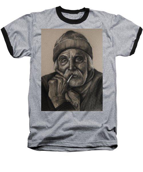 Lighthouse Keeper Baseball T-Shirt by Jean Cormier