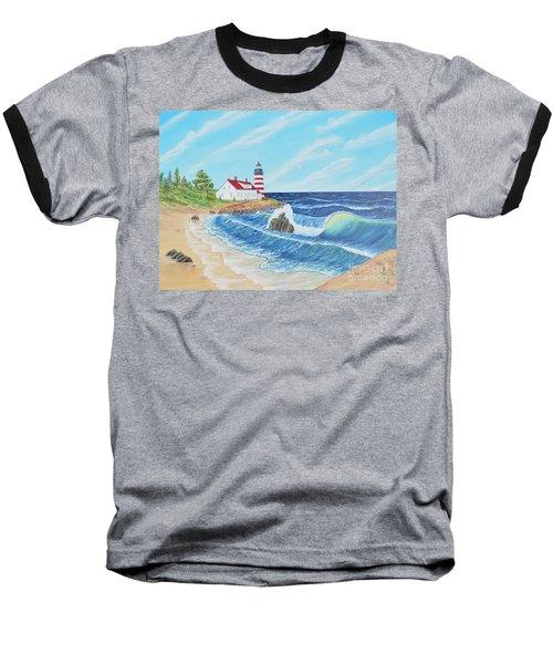 Lighthouse Life Baseball T-Shirt