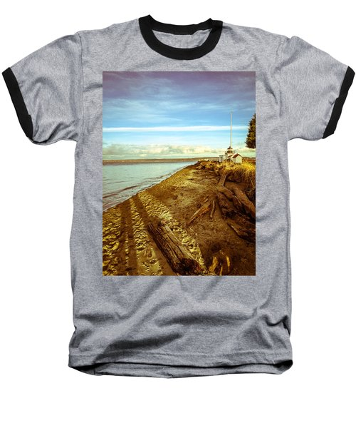 Lighthouse, Point No Point Baseball T-Shirt