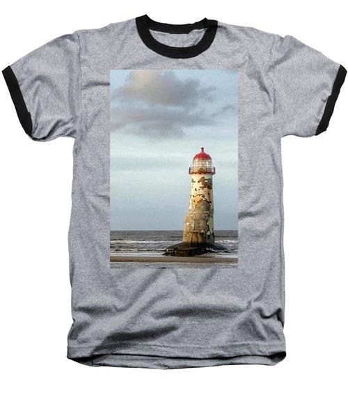Lighthouse Revisited Baseball T-Shirt