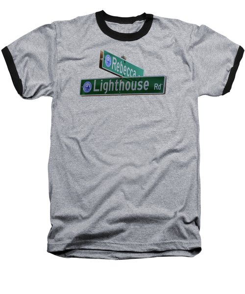 Lighthouse Road Baseball T-Shirt by Brian MacLean