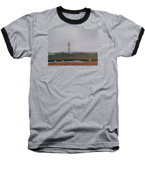 Lighthouse View Baseball T-Shirt