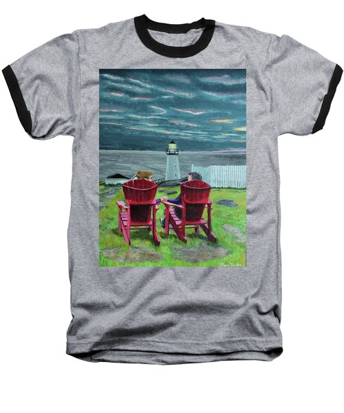 Lighthouse Lovers Baseball T-Shirt