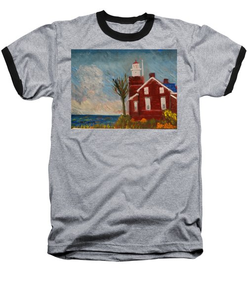 Big Bay Lighthouse  Baseball T-Shirt