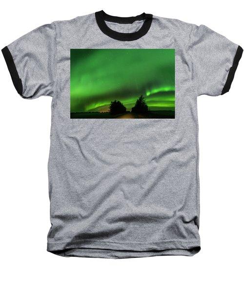Lighting The Way Home Baseball T-Shirt