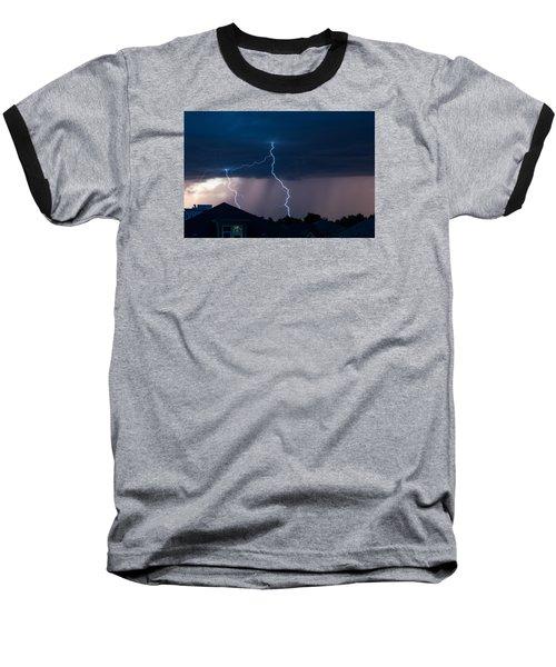 Lightning 2 Baseball T-Shirt
