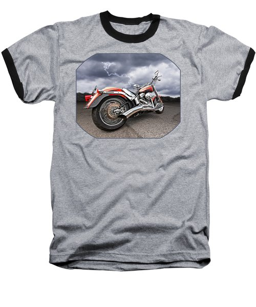 Lightning Fast - Screamin' Eagle Harley Baseball T-Shirt