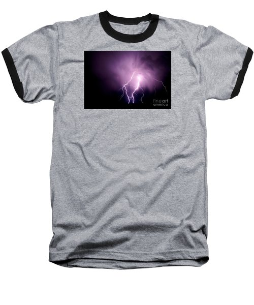 Lightning In The Desert Baseball T-Shirt